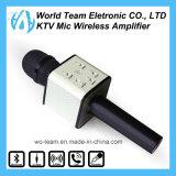 Microphone de condensateur sans fil de Bluetooth de mini karaoke professionnel portatif