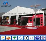 Tenda dell'arco per l'evento esterno provvisorio di mostra