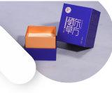 Het moderne Heldere Geverfte Vakje van de Gift van het Levensmiddel van het Karton van het Document