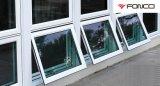 Vidro laminado impactado por furacão e janelas de alumínio e portas temperadas