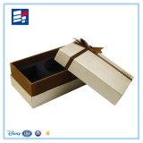 Caixa de presente personalizada relógio do papel do vinho da composição/eletrônica/embalagem da pena