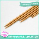 Pointeau de tricotage de tissage de crochet facile sûr en bois en bambou