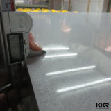 Kkr Artificial Marble High Glossy 30mm White Quartz Stone
