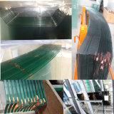 3mm19mm Vlak/Gebogen Gehard glas, Aangemaakt Glas met CCC /Ce/ISO/SGS Certificaat