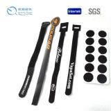 Cintas plásticas do gancho e do laço/faixa do cabo/cinta da bateria para Non-Slip