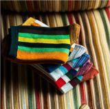 Носки платья нашивки способа вертикальные цветастые