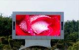 Pantalla de visualización al aire libre video de LED P6 para hacer publicidad