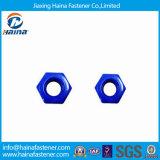 Noix Nuts de résistance de la corrosion de tête bleue d'hexagone de xylane pour le pétrole/gaz