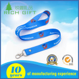 Customized Polyester Silk Screen Printing Lanyard / Sublimation Transferência de calor Full Color Impresso Lanyard