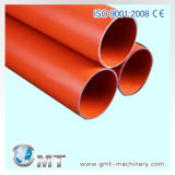 PE PP PVC Single-Wall波形のプラスチック管の機械装置ライン押出機