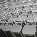白いカラー結婚式のための木のChiavariの椅子は使用した(CGW1604)