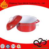 Cookware do potenciômetro do potenciômetro do esmalte mini