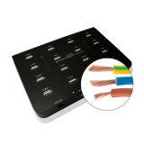 16 эпицентр деятельности Sync даты заряжателя USB2.0 USB портов 96W 1000mA