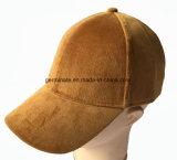 Sombrero de béisbol de la manera con la tela sólida 100% de la pana de la columna del algodón (LY050)