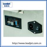 Máquina de impressão plástica automática Leadjet do copo/frasco V280