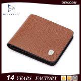 Бумажник держателя кредитной карточки изготовленный на заказ логоса цены по прейскуранту завода-изготовителя тонкий кожаный для людей
