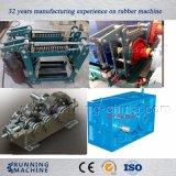 Gummi-geöffnete Mischmaschine mit zwei Rollen
