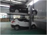 Elevatore idraulico dell'automobile di alberino due del Ce verticale di parcheggio dell'automobile