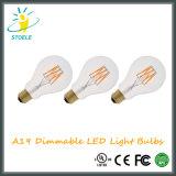 Stoele A19 / A60 Edison Lâmpadas LED Luz Incandescente