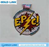 Récompense faite sur commande de chemin de souvenir de médaille en métal de médaille de module de finition de marathon