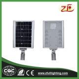réverbère solaire Integrated d'aluminium durable de l'intense luminosité 30W