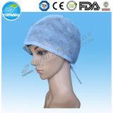 使い捨て可能な医者Cap/外科帽子/操作の帽子