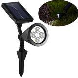 2W는 LED 태양 램프를 방수 처리한다