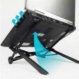表示iPadのための調節可能な携帯用ラップトップの立場のコンピュータの机