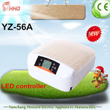 Incubadora do ovo da galinha do ovo do controle de temperatura automática 56 de Hhd