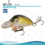 Attrait peu profond de pêche d'appât d'amorce détraquée choisie de pêcheur (CB1235)