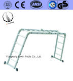 De hete Ladder van het Aluminium van de Verkoop met 4*4 Stappen
