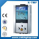 weißer Gas-Warmwasserbereiter des Panel-12L mit CER