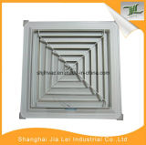 Diffuseur carré d'air de voie d'une seule pièce de l'aluminium 4