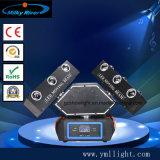 18PCS 10W RGBW 4in1 LED che sposta l'indicatore luminoso fantasma infinito del fascio delle 3 teste