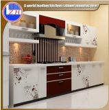 Moderne mini kleine Flachgehäuse-Küche-Schrank-Entwürfe mit Countertop-Stein