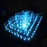 Fonte do diodo emissor de luz da dança da música da fonte do aço inoxidável