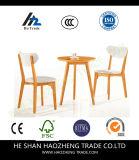 Hzpc121 플라스틱 식사 의자 - 나무로 되는 의자