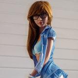 boneca lisa do brinquedo do sexo do Mannequin do peito de 155cm para homens