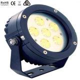 luz del punto del jardín de 6X3w LED, luz del paisaje, luz de inundación del LED