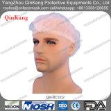 使い捨て可能な非編まれた伸縮性があるループ看護婦のBouffant帽子