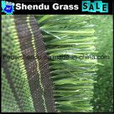 25mmの高さの階段のための緑の人工的な草のカーペット