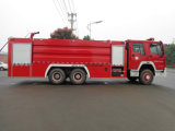 Cnhtc Sinotruk HOWO 15000L 물 거품 화재 싸움 트럭
