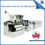 Linha de produção automática para a fatura das latas de estanho do alimento