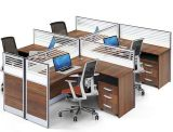 現代オフィス用家具の木のコンピュータ表ワークステーション(HX-NCD382)