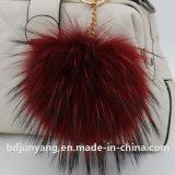 Piel suave de moda POM Poms del mapache para la venta