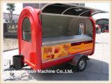 Restaurante móvel dos reboques baratos da restauração Ys-Fv300 para a venda