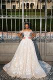 Adalla weg den Kleidern von der Schulter-Prinzessin-Hochzeit