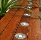 Quadratisches 2W LED Tiefbauplattform-Licht, im Freiengarten beleuchtet IP67 (82012S)