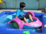 Paddel-Boot, Stoßboot, Swimmingpool-Spiel
