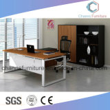Escritorio de oficina moderno del vector del ordenador del metal de los muebles